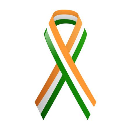 national colors: Ribbon India national colors