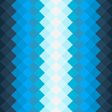 Pattern with dark blue and blue squares