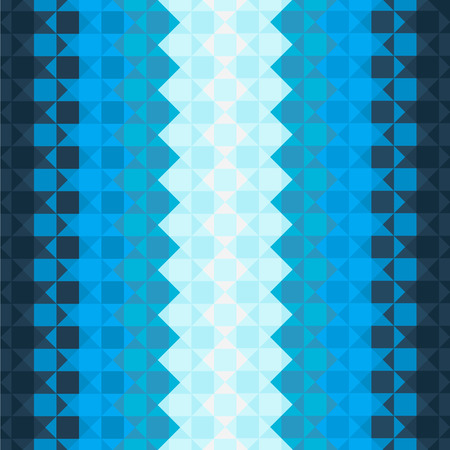 Pattern with blue squares