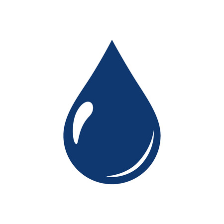 water drops icon symbols vector. Ecological water icon for web page. Aqua environment or nature raindrop simple isolated liquid. Nature freshness and clean concept.
