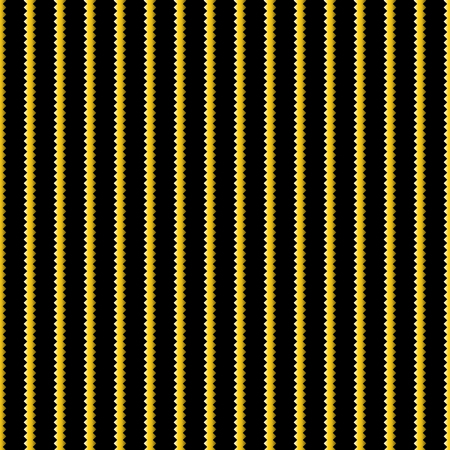 black stripes: Yellow and black stripes background. seamless pattern Illustration