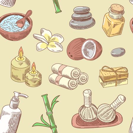 Aromatherapy Health Elements Set