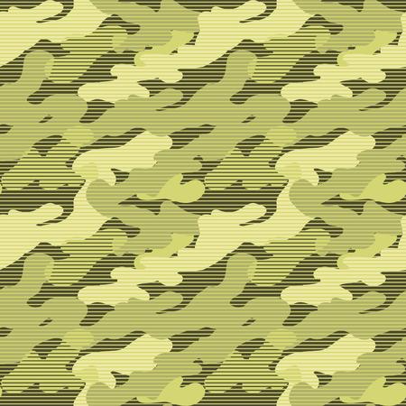 Military Camouflage Pattern Çizim
