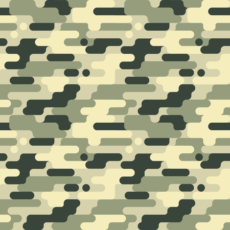 Military Camouflage Pattern Illustration