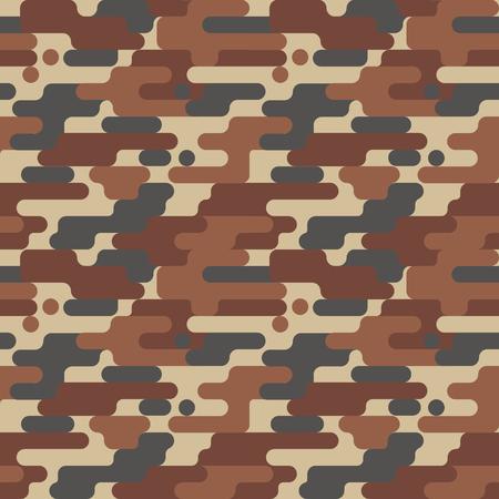 군사 위장 무늬 일러스트