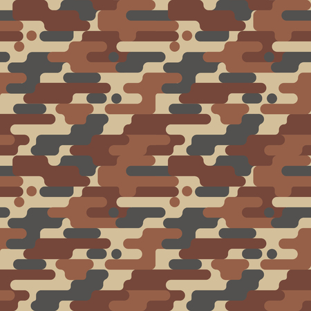 Military Camouflage Pattern Ilustrace