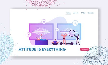 Muscle Tension Website Landing Page. Chiropractor Massaging Man with Pain in Tensed Muscles. Sportsman Bodybuilder Posing, Healthy and Unhealthy Body Web Page Banner. Cartoon Flat Vector Illustration