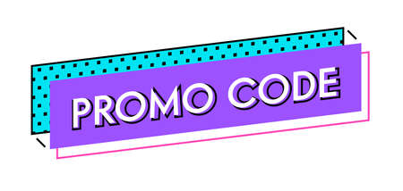 Price Discount Offer Graphic Design Element. Promotional Code Advertising, Special Offer E-Commerce. Gift Voucher Coupon