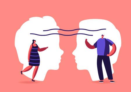 Empathy, Open Mind, Emotional Intelligence Concept. Communication Skills, Reasoning, Persuasion, People Listen, Support