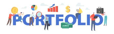 Investor Portfolio Financial Concept.