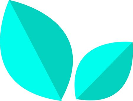 Leaf icon design element. Vector. EPS 10