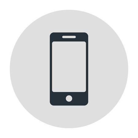 Mobile phone, smartphone icon. Stock Vector illustration. Ilustração
