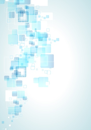 Abstract blue business background with pattern. Illustration