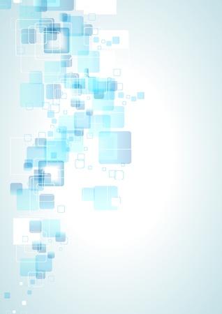 összpontosított: Elvont kék üzleti háttér mintázat. Illusztráció