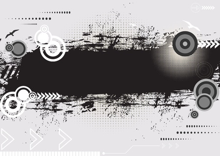 attrition: Creative conceptual isolated grunge texture background design. Illustration