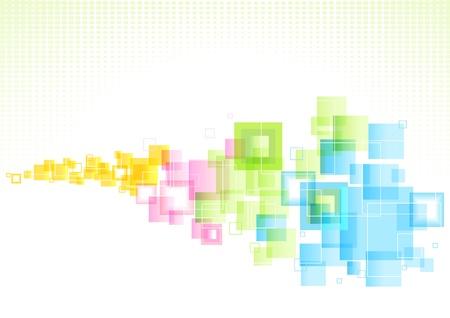 Astratto sfondo colorato con il modello di business.