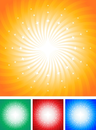 Abstrakter Hintergrund mit Sternen. Illustration AI 10 Dokument. Illustration