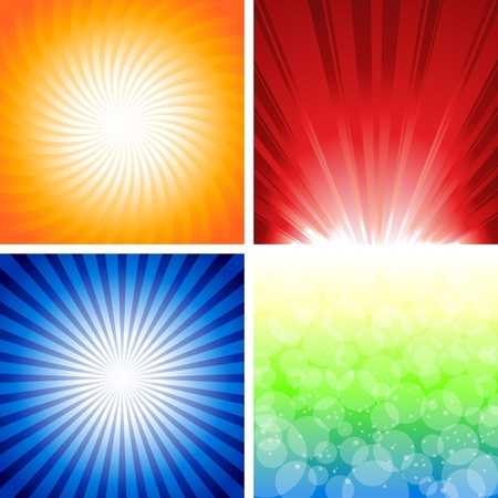 sunbeam: Abstract background with stars. Illustration Ai 10 document.