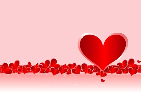 Valentine day background love elegance. Vector