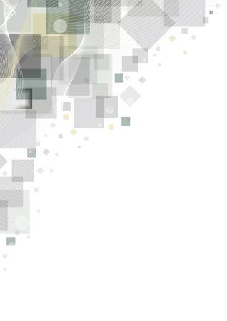 Résumé fond gris bon pour votre conception. Vecteurs