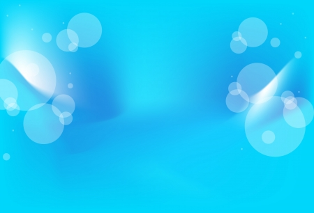Blue striped abstract background - vector, illustration Vector