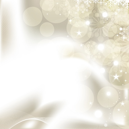 shinning light: Abstract Christmas background with snowflakes  Global color swatches for easy editing