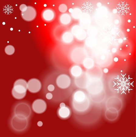 snoflake: Abstract Christmas background with snowflakes  Global color swatches for easy editing