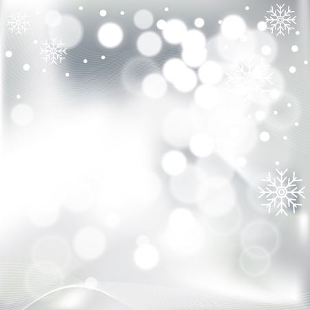 shinny: Abstract Christmas background with snowflakes  Global color swatches for easy editing