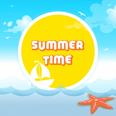 Summer Time Stock Vector - 21448921