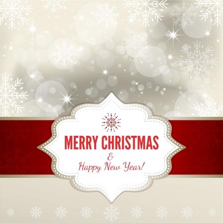 Christmas Background - Illustration Vector