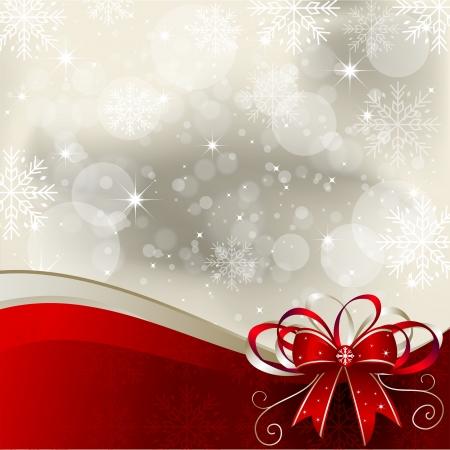 three dimensional background: Christmas Background - Illustration