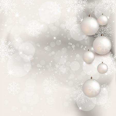 Weihnachten Hintergrund mit Geschenk-Box - Illustration