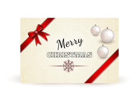 christmas greeting card: Christmas Vintage Greeting Card
