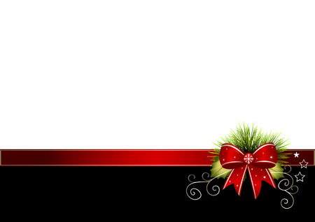 Christmas Background - Illustration Vector