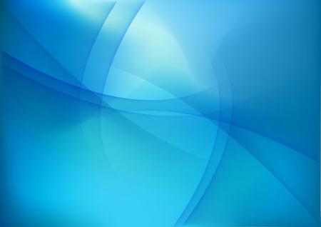 abstrakte muster: Abstrakte blauem Hintergrund. Vektor-Illustration. Illustration