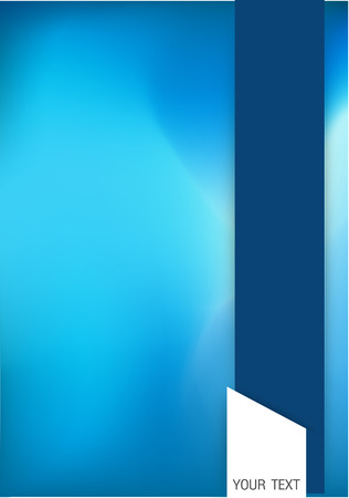 Abstract blue background image. Vector, illustration. Vector