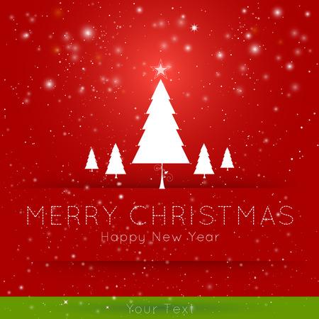Abstrakt Christmas Hintergrund
