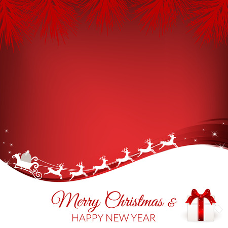 Abstract christmas background image. Vector, illustration.