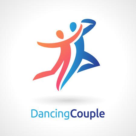 Dancing Couple Vector Symbole Vecteurs