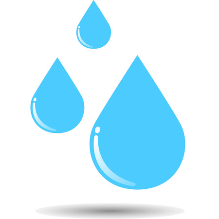 rain drop: Rain drop icon. Vector, illustration, eps10.