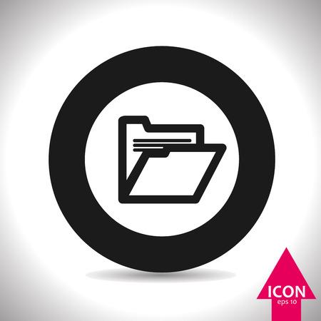 pay money: folder icon