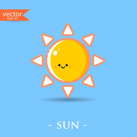 Sun. Vector, illustration, eps10.