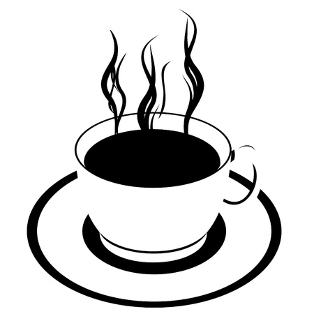 hot coffees: Cup of coffee