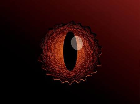 Dragon eye Stock Vector - 10575721