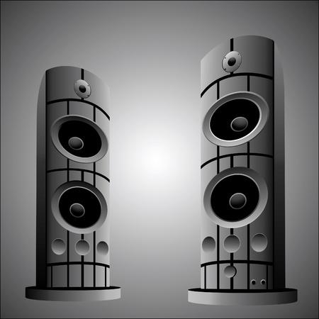 Music speaker Illustration