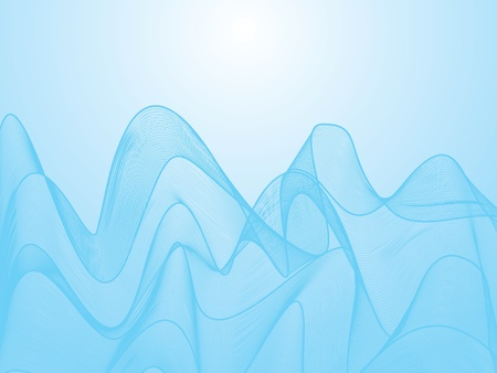 lightweight: Abstract blue background Illustration