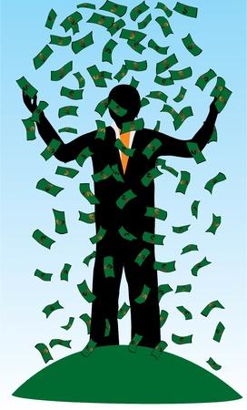 wealthy man: Rich man