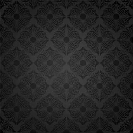 seamless damask: Papel tapiz Damasco transparente