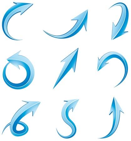 arrow down icon: Set of arrows