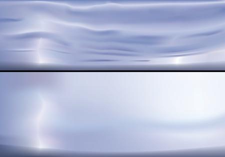 storm cloud: Vector illustration of sky